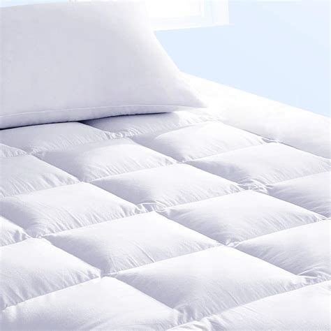 pillow top bed cover size mattress pad cover cooling foam pillow top