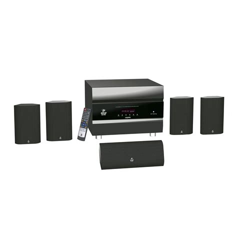 pyle 400 watts 5 1 channel hdmi home theater system with