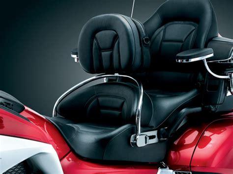 Motorrad Transport Mit Fahrer by Kuryakyn 8930 Revolution Driver Backrest For Goldwing Gl1800