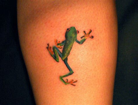 small frog tattoo 34 delightful frog tattoos that will leave you hopping