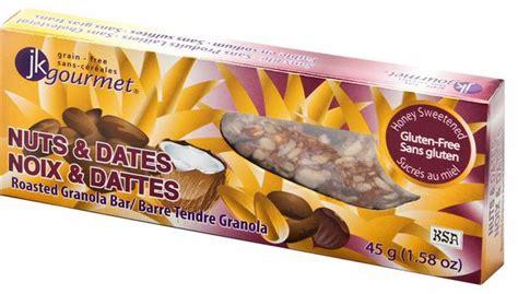 Grande Granola Fruits And Seeds granola bars gluten free foods grain free jk gourmet