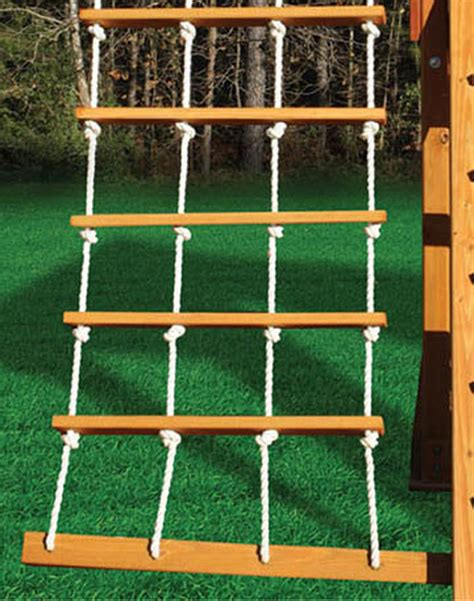 swing set rope ladder deluxe rope ladder swing set add on
