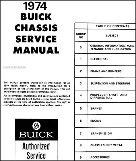 car repair manuals download 1996 buick century on board diagnostic system 1974 buick shop manual riviera lesabre electra regal century apollo repair 74 ebay