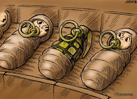 cartoon movement paradox of terrorism