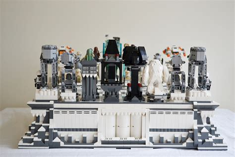 Amazing Chess Sets by Giant Star Wars Hoth Lego Chess Set Geektyrant