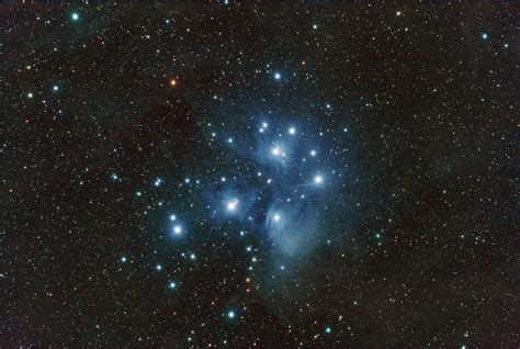 apod 2007 november 18 m45 the pleiades star cluster