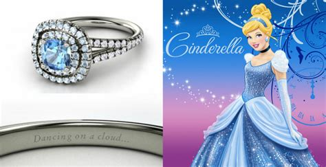 here are two more gemvara engagement rings designed by the disney 22 disney engagement rings fit for a princess