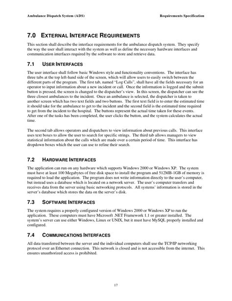 interface design document template 19 interface design document template siebel innovation