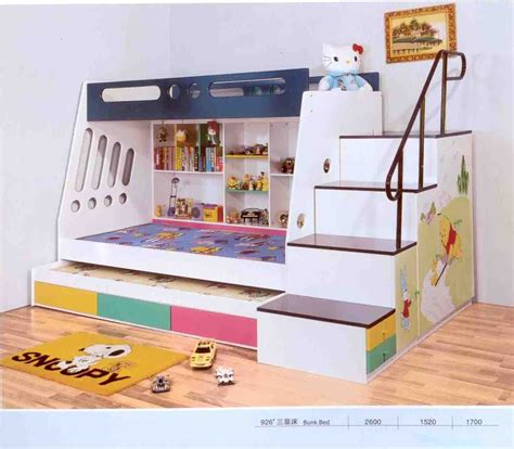 bed for kid bedroom cheap bunk beds with stairs cool bunk beds for 4