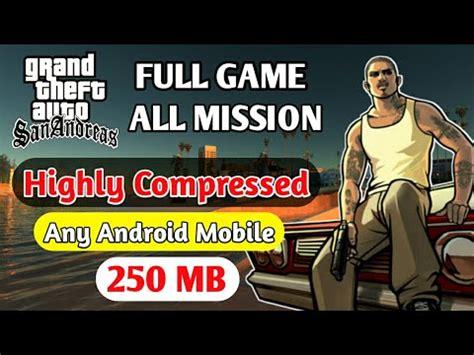 gta sa lite v8 (200mb) android | mali (download+tutorial