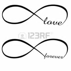 Infinity Symbol In Word Infinito Forever Foto De Archivo 17583309