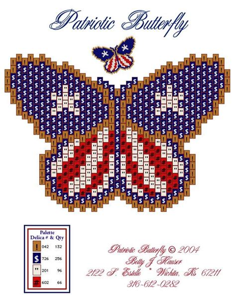 free beading patterns seed beaded butterfly patterns free free patterns click