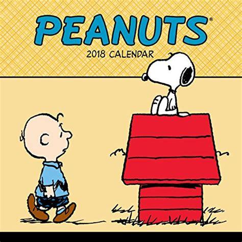 peanuts 2018 day to day calendar peanuts 2018 wall calendar import it all