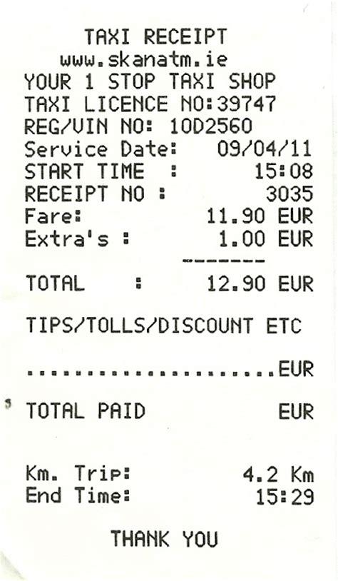 taxi receipt template philippines expressexpense custom receipt maker receipt