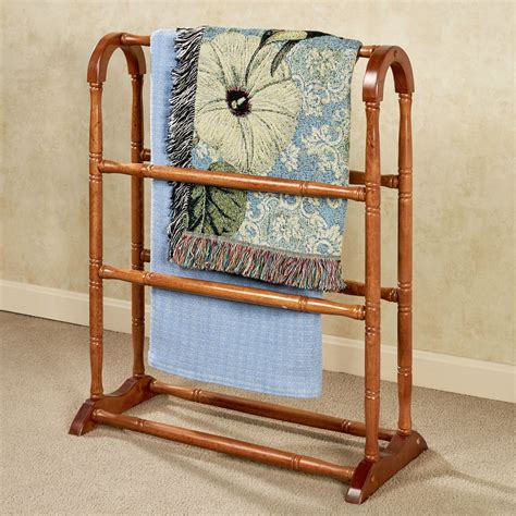 comforter rack ayden solid wood blanket rack