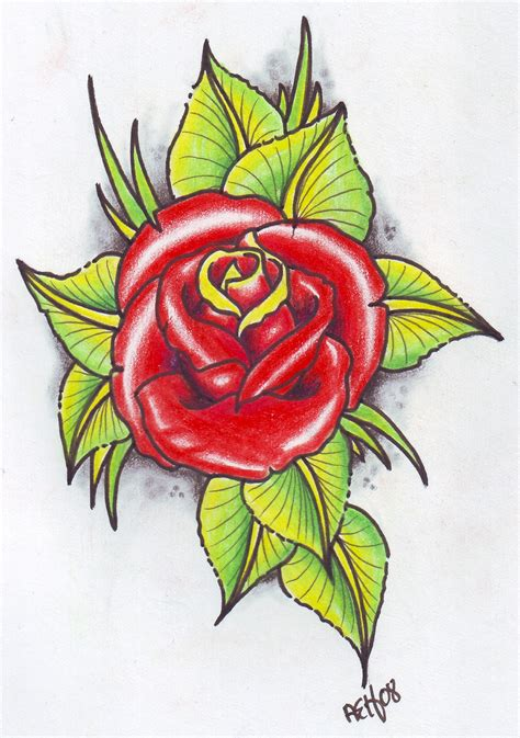 tattoo flash rose flash tribal flash designs gallery