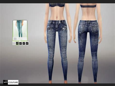 sims 4 jeans skinny jeans for sims 4 v1 0 download sims 3 4 mods