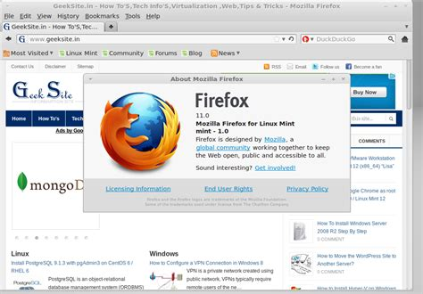 mozilla firefox themes linux install mozilla firefox 11 on linux mint 12 ubuntu 11 10