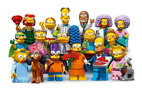 Set Seila 2in 1 the simpsons lego minifigures series 2 launch 1st may