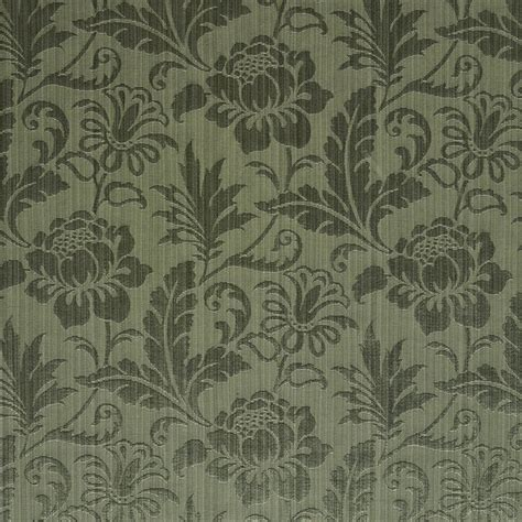 green damask upholstery fabric sage green tone on tone floral and leaf damask upholstery