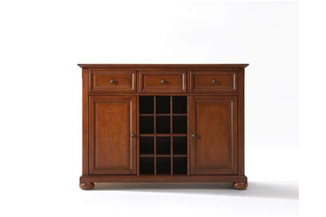 alexandria buffet server sideboard cabinet with wine