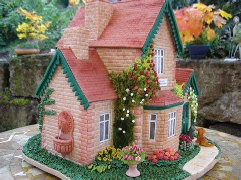 cake house house cake tutorial cakecentral