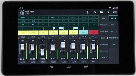 air android x air how to custom fader layers android