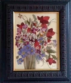 quadri con fiori pressati quadri con fiori secchi fai da te fiori pressati