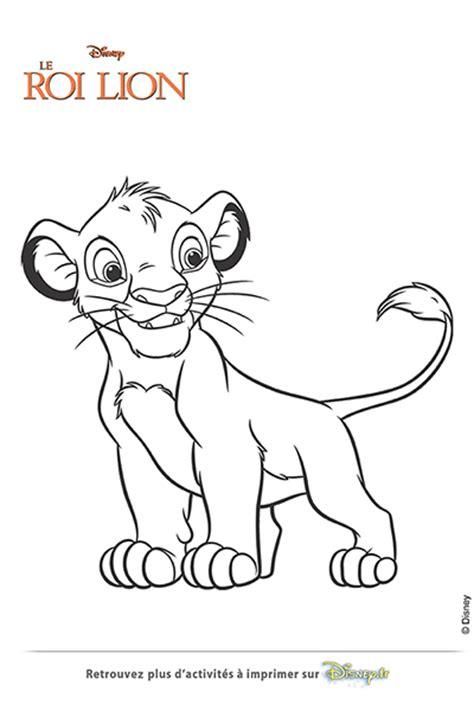 Jeux Dessin Le Roi Lionl