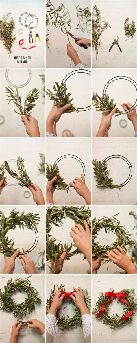 how to make a wreath from branches 3 wreaths to make for the holidays