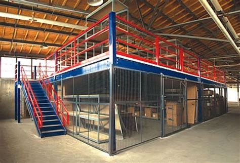 What Does Mezzanine Floor by Industrial Mezzanine Floors Commercial Mezzanine