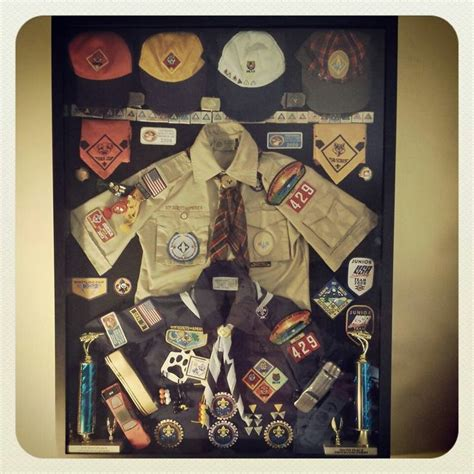cub scout crossover shadow box scouts boy scouts merit
