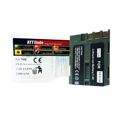 Baterai Fuji Np 50 harga baterai en el3e untuk kamera nikon d50 d70 d70s d100