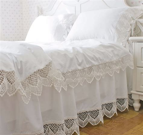 korean web site to order white satin bedspreafs korean satin white lace bedding duvet cover set king size solid color princess