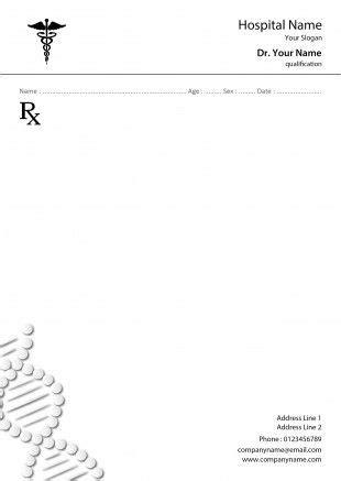 Buy Printed Doctor Prescription Pad Formats Online India Prescription Pad Template