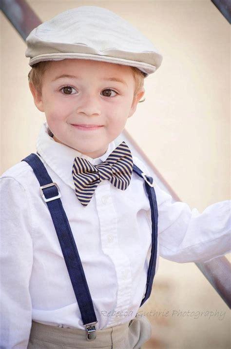 Wedding Attire For Baby Boy by Boys Bow Tie Boys Bowtie Boys Bowtie And Suspender Set