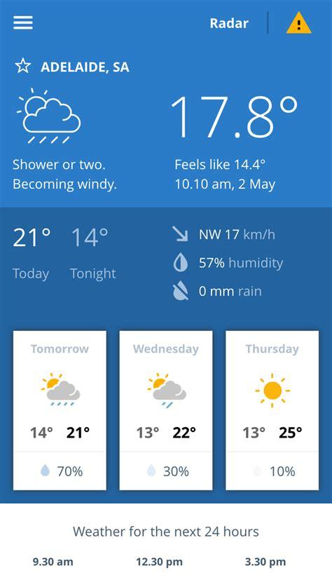 bom weather new bom weather app