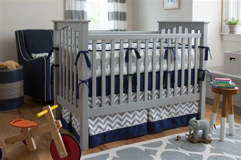 navy and gray crib bedding navy and gray elephants crib bedding carousel designs