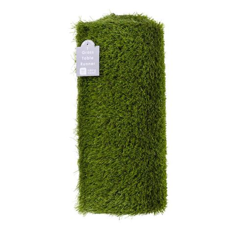 grass table runner by postbox notonthehighstreet