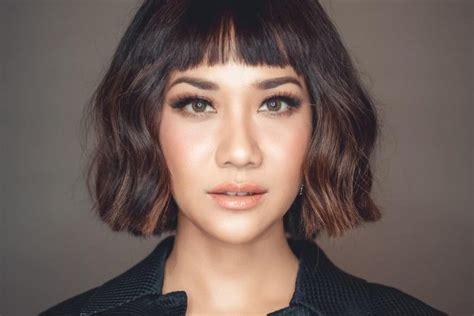 model rambut wanita  sesuai bentuk wajah bulat