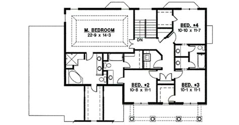 2700 square foot house plans 2700 sq ft house plans traditional style house plan 4 beds 2 5 baths 2700 sq ft plan