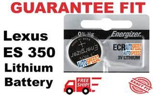 Lexus Es 350 Key Battery 2013 2017 Lexus Es 350 Key Fob Battery Replacement Remote
