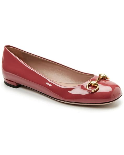Flat Shoes Gucci W5347 gucci quot jolene quot patent ballet flat shoes flats gucci shoes flats and