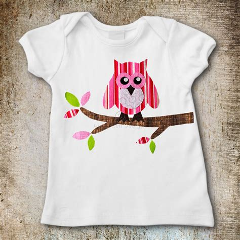 Owl Applique Template by Owl On Branch Applique Template Lea Designs