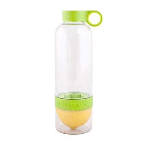 Promo Citrus Zinger Infuse Water Bottle Botol Juicer Praktis Jus Air water bottle with citrus juicer on the bottom flavored water without seeds or pulp what s