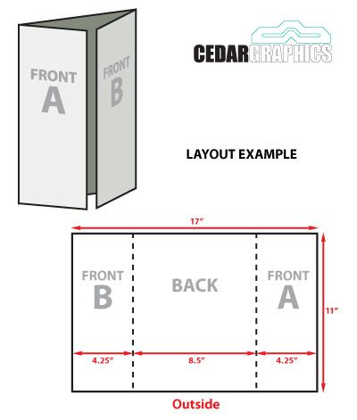 8 5 x 11 gate fold tri fold template download adobe