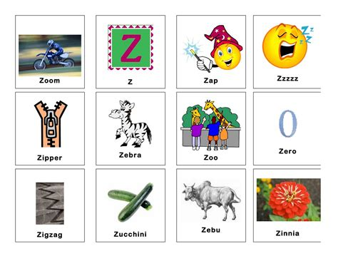 Words With The Letter Z In Them clear speech therapy z words