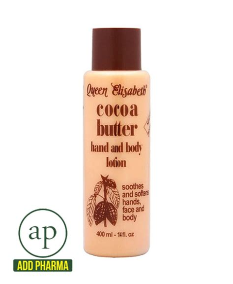 tattoo lotion cocoa butter queen elisabeth cocoa butter hand and body lotion 400ml