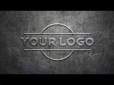 simple embossed metal logo mockup tutorial   minutes youtube