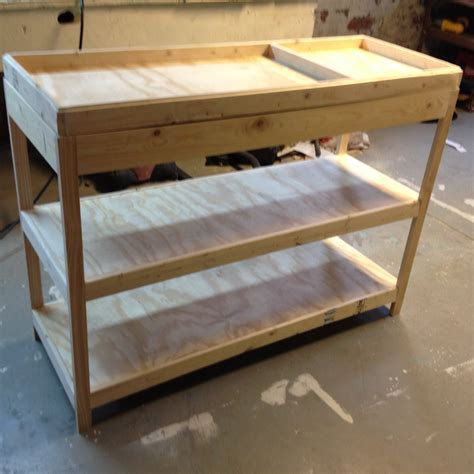 building  changing table frugal living